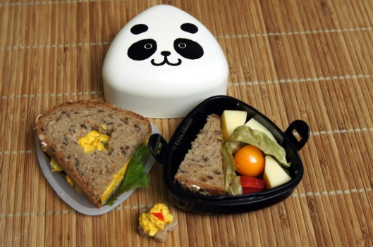 Snack Bento mit Brot